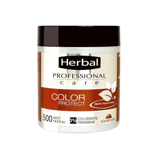 Herbal hispania professional care mascarilla color protect 500ml
