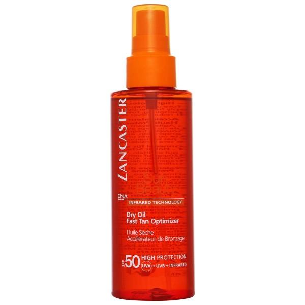 Lancaster sun beauty tan optimizer aceite seco spf50 150ml
