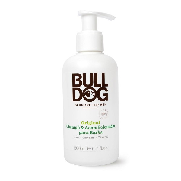 Bulldog skincare for men original champu & acondicionador barba 200ml