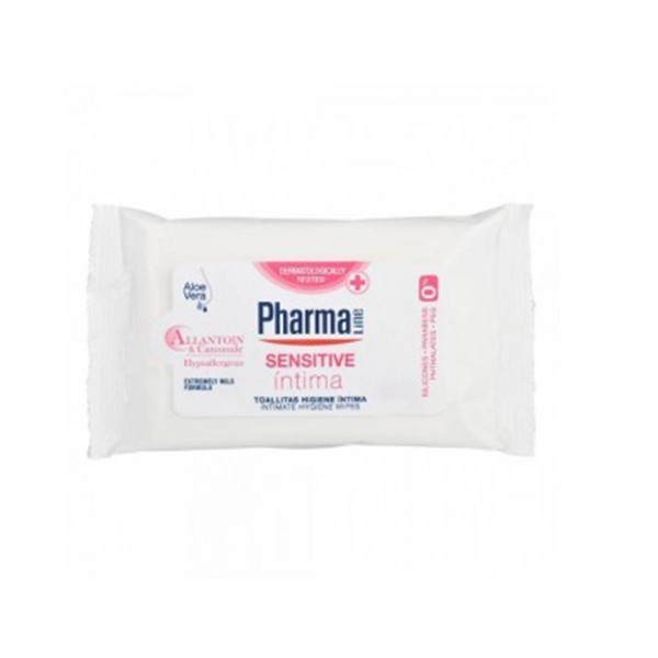 Pharmaline pharmaline toallita intima sensitive 1ml