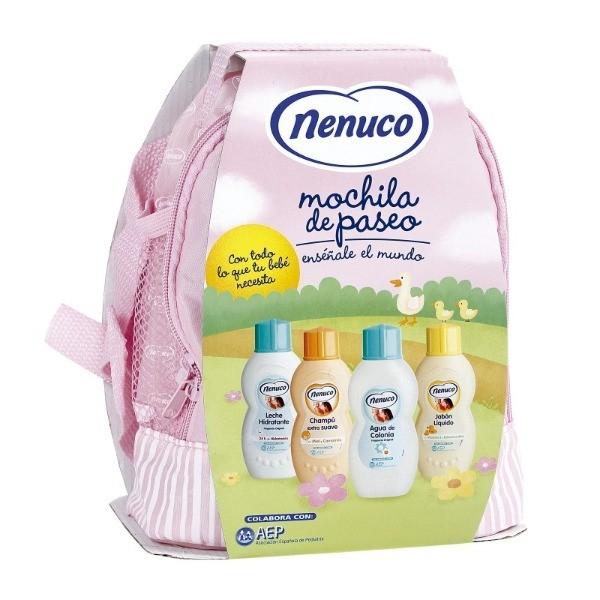 NENUCO MOCHILA SET  4 Unidades Rosa
