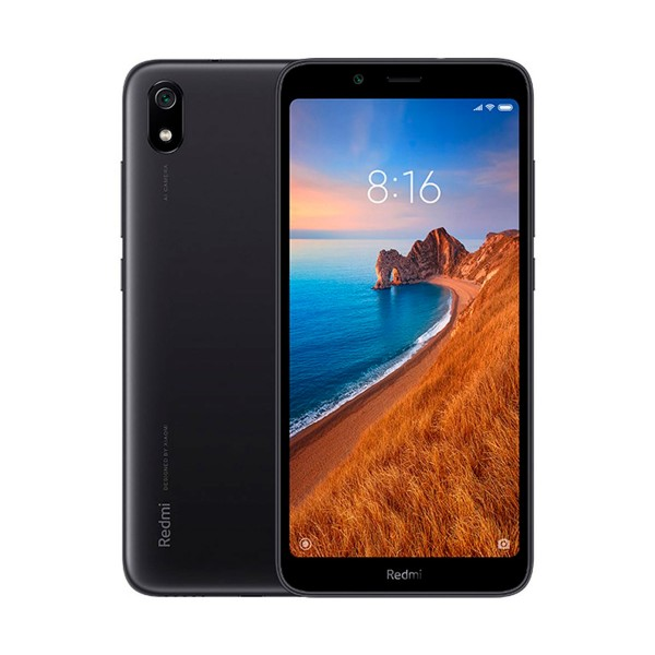 Xiaomi redmi 7a negro mate móvil 4g dual sim 5.45'' hd+/8core/32gb/2gb ram/12mp/5mp