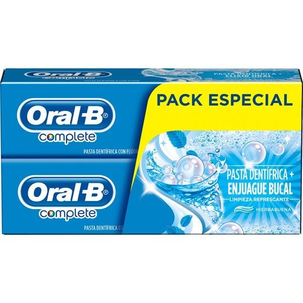 Oral-B Pack Especial Dentífricos 2x75 ml