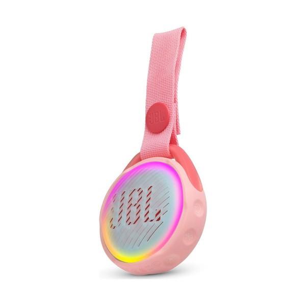Jbl jr pop rosa altavoz portátil 3w bluetooth correa integrado impermeable