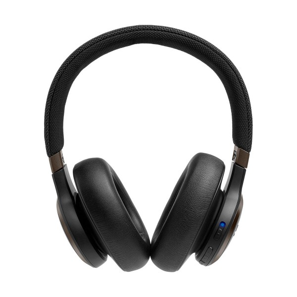 Jbl live 650 bt nc negro auriculares over-ear inalámbricos bluetooth cancelación de ruido manos libres asistente de voz